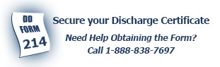 Secure your Discharge Certificate. Need Help Obtaining the Form? Call 1-888-838-7697